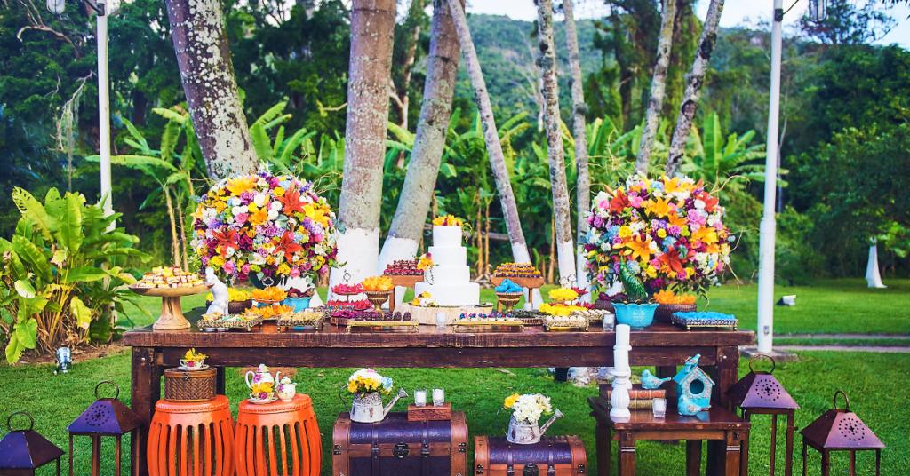 mesa de doces casamentos rj